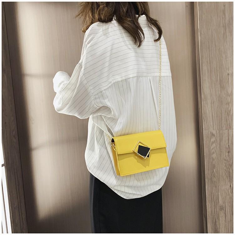 Túi xách nữ khóa xéo thời trang túi đeo chéo HADAS TXKXEO hàng đẹp 159k sale còn 99k + ảnh thật