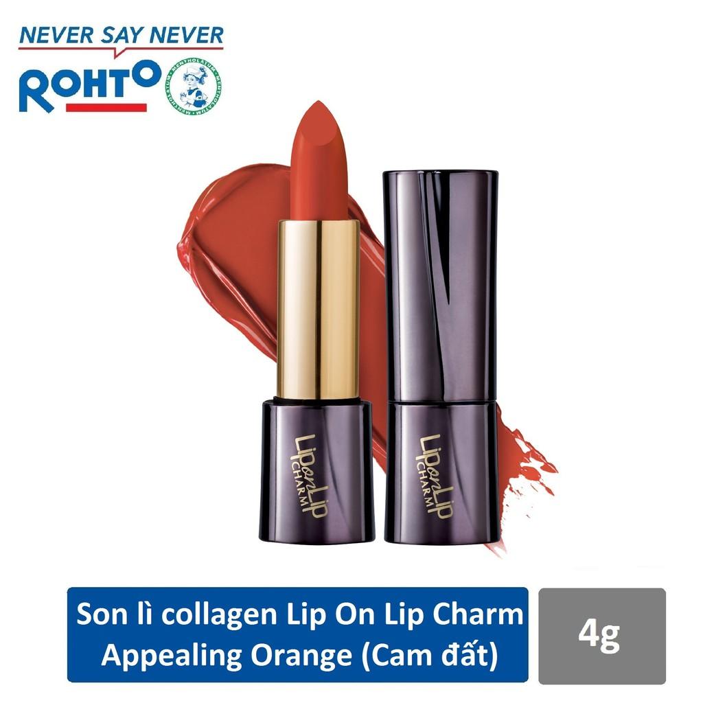 Son lì Collagen siêu mịn Lip On Lip Charm 4g