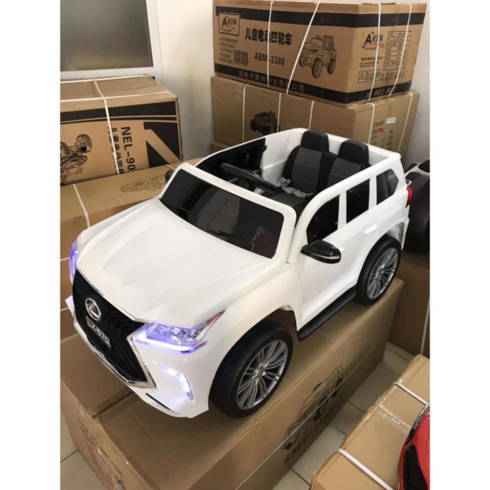 HOT [HOT] Ô tô xe điện điều khiển tự lái LEXUS 570 trẻ em đa phong cách thời thượng