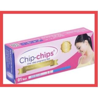 ✅ Que thử thai Chip-Chips Chính hãng