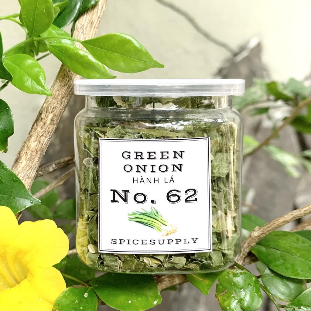 Green Onion - Hành lá sấy khô zip M hũ