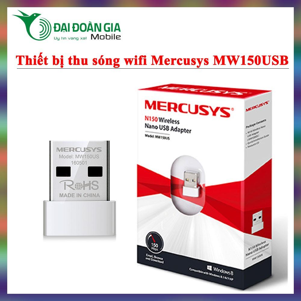Mercusys MW150US - Thiết bị thu sóng wifi - Thay thế dây cáp mạng tuyệt vời - 3117749 , 1001304713 , 322_1001304713 , 90000 , Mercusys-MW150US-Thiet-bi-thu-song-wifi-Thay-the-day-cap-mang-tuyet-voi-322_1001304713 , shopee.vn , Mercusys MW150US - Thiết bị thu sóng wifi - Thay thế dây cáp mạng tuyệt vời
