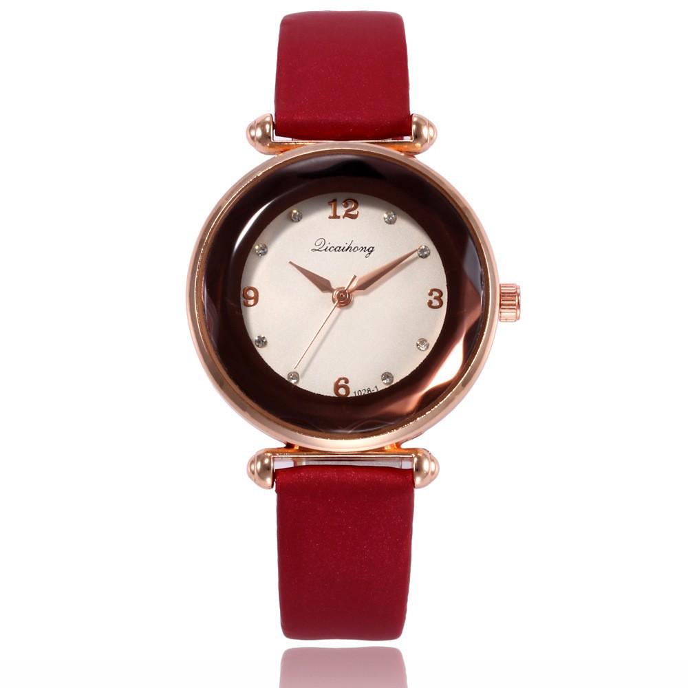Đồng hồ nữ style Hàn Quốc DIG đính đá sang trọng tinh tế DH468