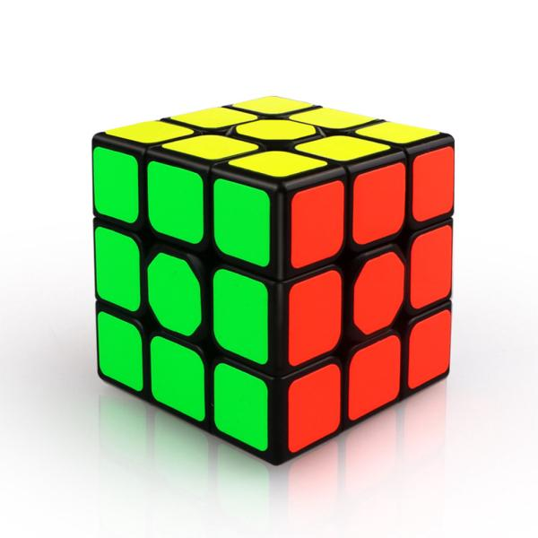 3X3X3 56mm Smooth Magic Cube Stress Reliever Toy