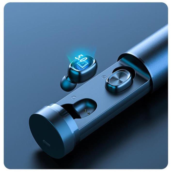 Tai nghe Bluetooth TWS B9 bản Quốc tế True Wireless không dây nút cảm ứng kháng nước thể theo stereo