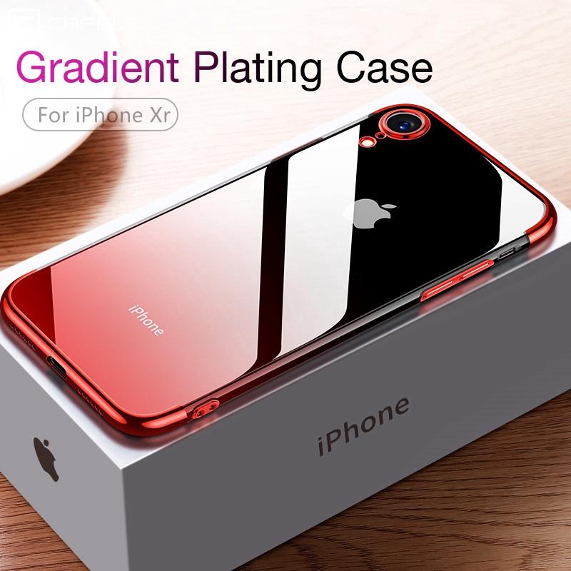 Ốp điện thoại mềm siêu mỏng màu trong thanh lịch cho Iphone 6/7/8/6s/6sp/7p/8p/X/XS/XR/XS MAX