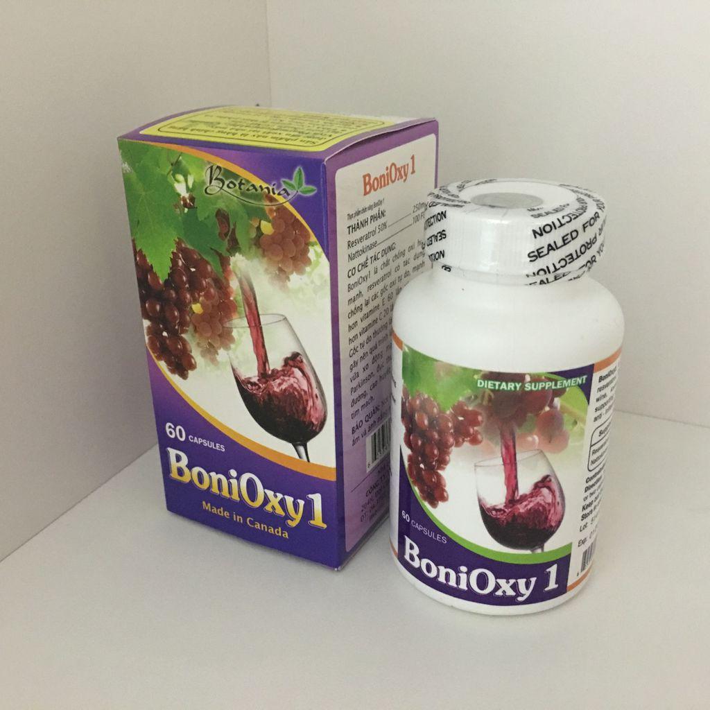 BONIOXY1 - GIÚP BẢO VỆ TIM MẠCH