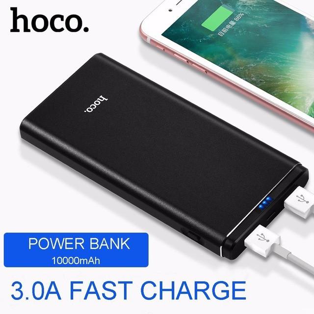 [FREESHIP] Pin Sạc dự phòng hỗ trợ sạc nhanh 2 cổng USB chính hãng HOCO QUICK CHARGE J2 10000 mAh