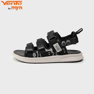 Giày Sandal Vento 2020 NB80 Màu Đen Đế IP chống xẹp lún Quai sau có thể tháo rời