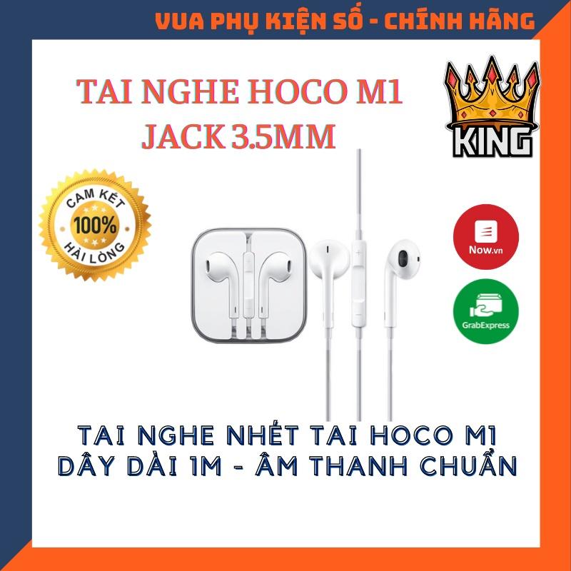 Tai Nghe Hoco M1 Âm Thanh Siêu Chất Phù Hợp Với Tất Cả Các Máy Giắc 3.5