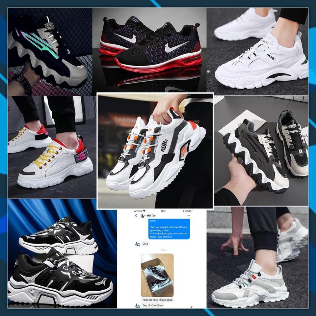 Tết Xả Mới - [XẢ KHO] 8 Mẫu Giày Sneaker Tăng Chiều Cao, Đế Cao 5-6cm Hàng Cao Cấp Full Size Loại 1 AL6 . ' # ˇ