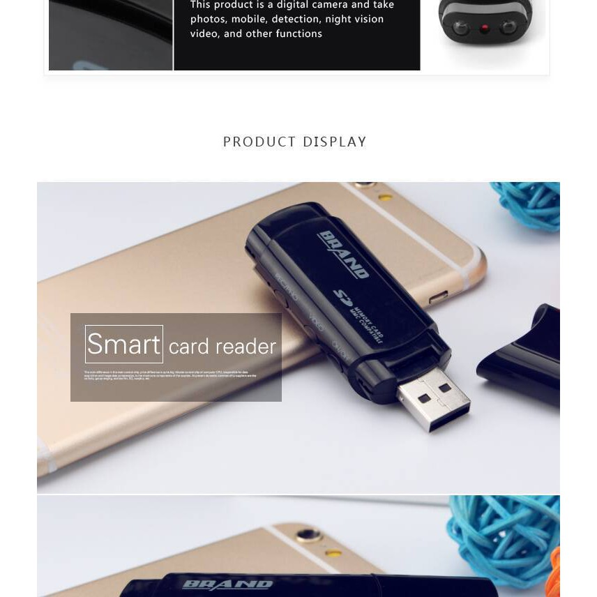 Camera Mini DVR U - 838 USB 2.0