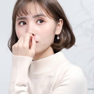 Hình ảnh [Mã FABR33 giảm 15% tối đa 50K đơn từ 150K] Bông tai bông tuyết xinh xắn cho nữ B2620 - Bảo Ngọc Jewelry-3
