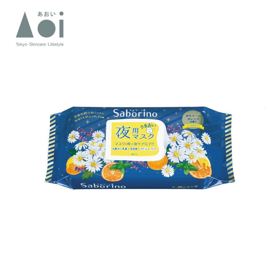Mặt Nạ Buổi Tối Saborino Good Night Sheet Mask (Gói 28 Miếng)