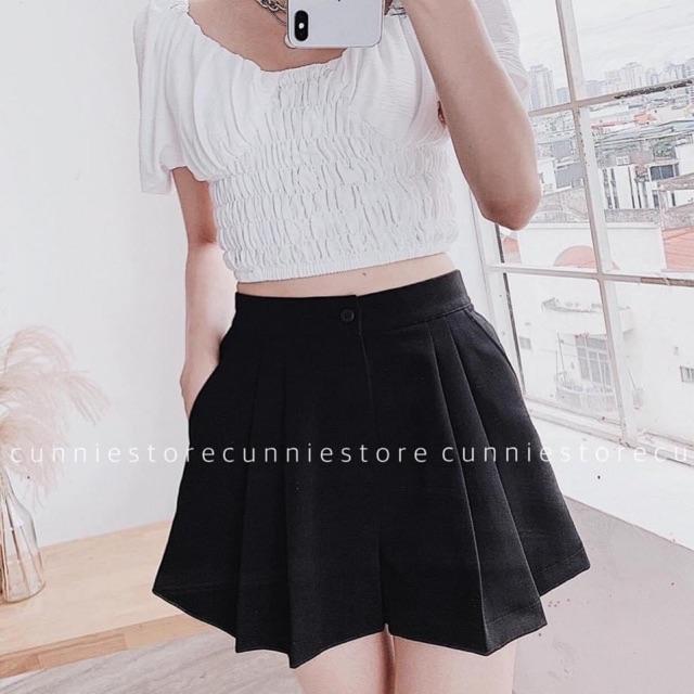 ✅Quần shorts 2ly xoè xinh xắn