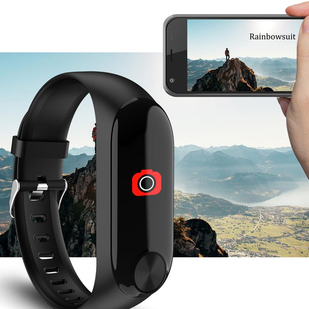 Vòng Đeo Tay Thông Minh Rb- Y10 Bluetooth 4.0 Chống Nước Có Thể Sạc