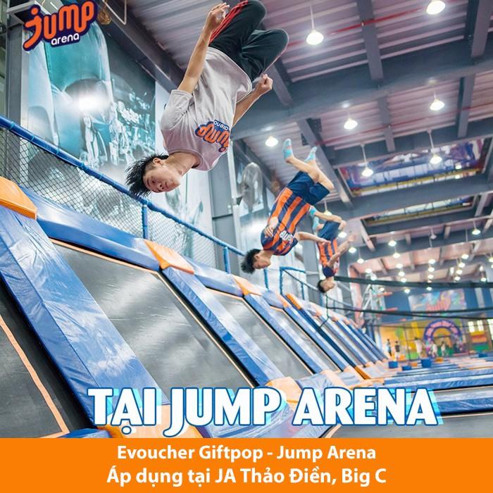 [Evoucher] Vé Jump Arena 60' cuối tuần, ngày lễ tết (áp dụng tại JA Thảo Điền, JA Big C)