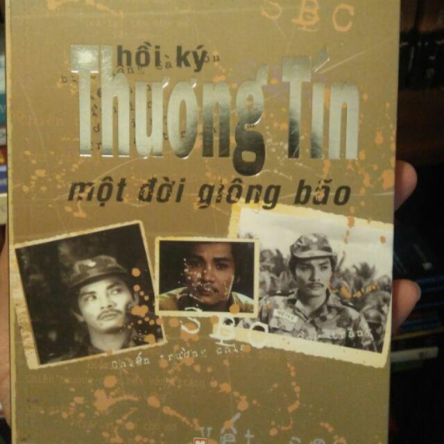 Sách - Hồi ký Thương Tín - một đời giông bão