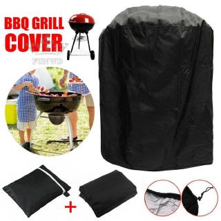 BBQ Cover Grill Barbecue Garden 96*70cm Safe Protect Replace Replacement Accessory Waterproof Round Kettle New