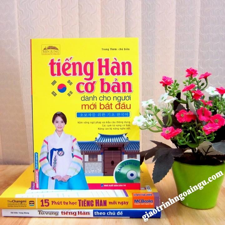 Sách Tiếng Hàn cơ bản dành cho người mới bắt đầu - Kèm CD