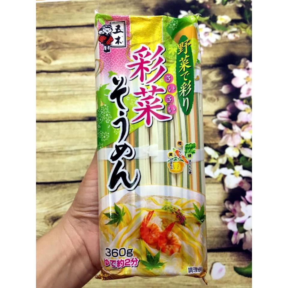 Mì Somen Rau Củ Itsukifoods 360gr