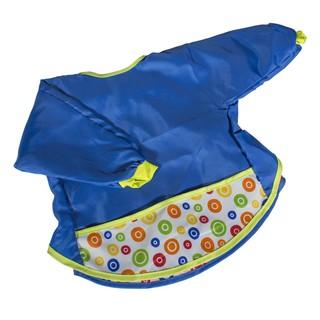Áo yếm dùng khi ăn/vẽ/nghịch bẩn cho trẻ em IKEA KLADD (Xanh biển)