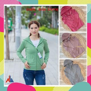 (53-67kg) Áo khoác thun nữ nhiều màu – Áo khoác chống nắng thun cotton lạnh (53-67kg)