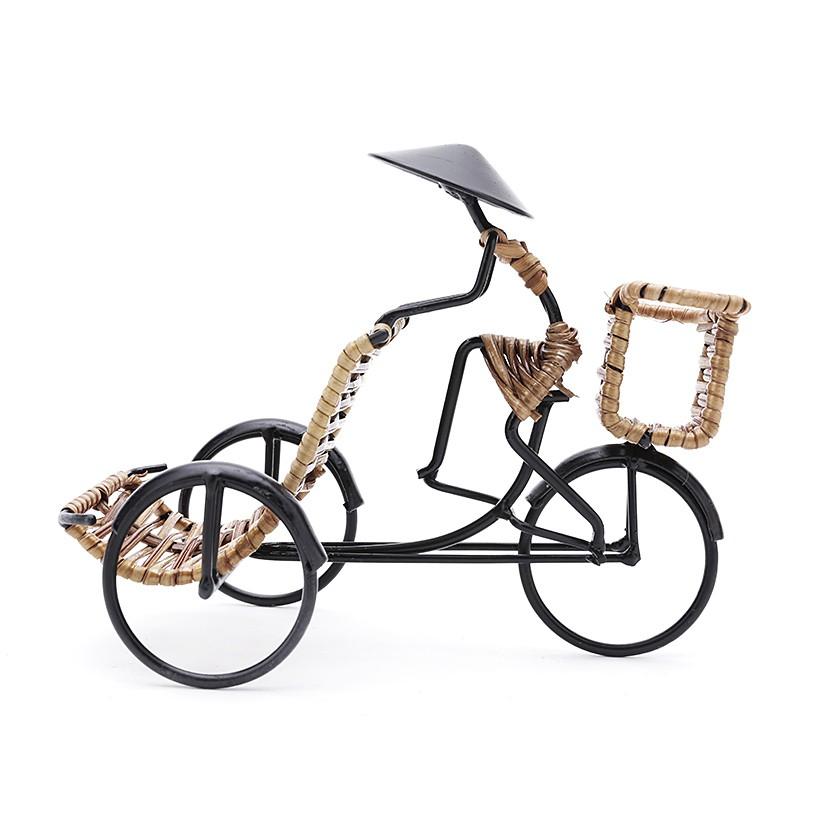 Trưng card visit điện thoại hình người đạp xích lô Eden Living EDL-C008