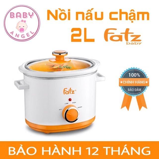 [Mẫu mới] Nồi nấu chậm 1,5L - 2L - 2,5L Fatz Baby FB9015MH / FB9020MH / FB9025MH