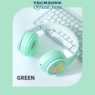 Tai Nghe Bluetooth Đèn Led B3 pro, Tai Nghe Cao Cấp Âm Thanh Sống Động,Gam màu thanh xuân, Bass Trầm Ấm Bảo Hành 1 Năm thumbnail