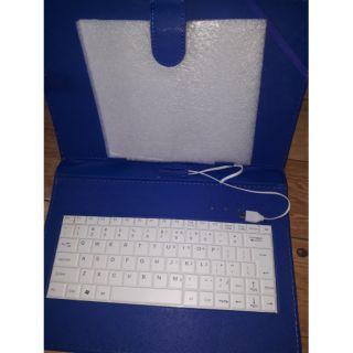 Bao da ipad 10 in có bàn phím + tặng gậy tự sướng