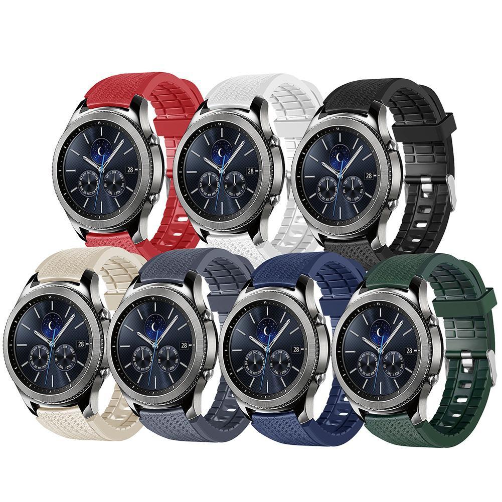 Dây đeo TPU 20mm cho đồng hồ thông minh Gear S3