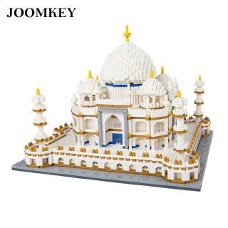 joomkey 4019pcs Taj Mahal Model Building Blocks 3D For Children Gifts ABS 3D Model Fantastic
