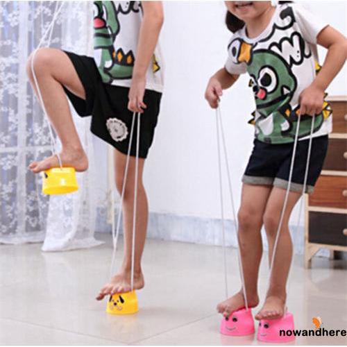 ENN-Hot Fun Jumping Stilts Walker Walk Stilts Jump Outdoor Fun Sports Toys for