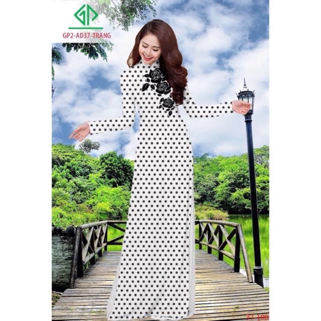 Vải áo dài chấm bi - 2997548 , 1307889829 , 322_1307889829 , 220000 , Vai-ao-dai-cham-bi-322_1307889829 , shopee.vn , Vải áo dài chấm bi