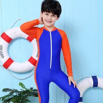 Set đồ bơi bé trai dài tay 1