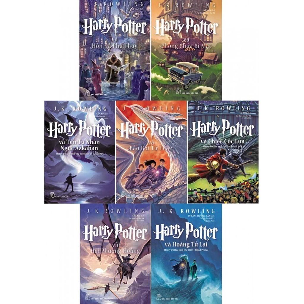 Truyện Harry Potter: Trọn bộ 7 cuốn -  (Lẻ tập)