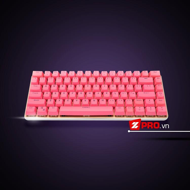 Bàn phím cơ Kananic Pink - 2816014 , 123474540 , 322_123474540 , 945000 , Ban-phim-co-Kananic-Pink-322_123474540 , shopee.vn , Bàn phím cơ Kananic Pink