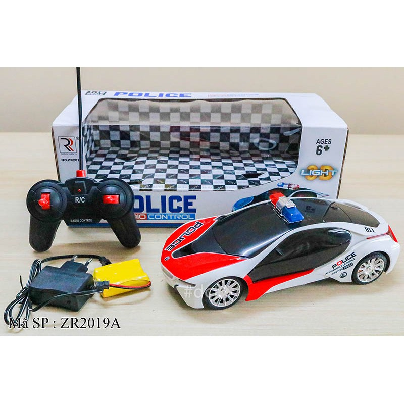 Xe hơi BMW I8 diều khiển pin sạc đèn 3D ZR2019A