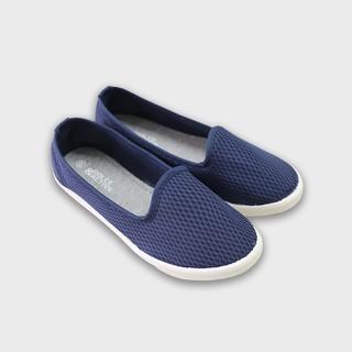 Giày slipon nữ D&A EPL1832 xanh chàm