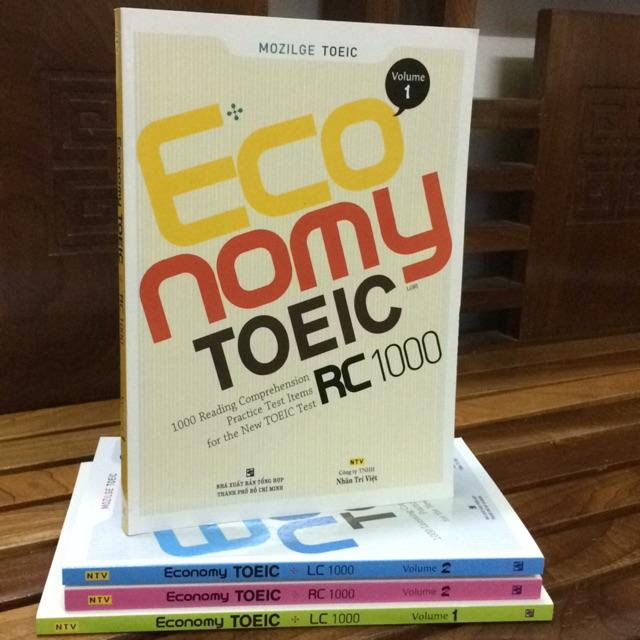 Economy Toeic LC 1000 volume 1 ( giá bìa 178.000 )