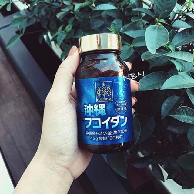 Viên uống tảo Fucoidan Okinawa phòng chống ung thư Nhật Bản 180 viên - 2526203 , 275141433 , 322_275141433 , 1850000 , Vien-uong-tao-Fucoidan-Okinawa-phong-chong-ung-thu-Nhat-Ban-180-vien-322_275141433 , shopee.vn , Viên uống tảo Fucoidan Okinawa phòng chống ung thư Nhật Bản 180 viên