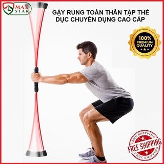 Hàng loại 1 tay cầm nhựa dẻo Gậy rung tập thể dục thể thao chuyên dụng cao cấp Gậy Feilishi