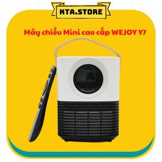 [CHÍNH HÃNG] Máy chiếu Mini cao cấp WEJOY Y7 [ Hệ Điều Hành Android + Netflix + Youtube + Wfifi + Bluetooth ]