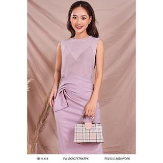 Áo len hồng không tay thiết kế Elise thumbnail