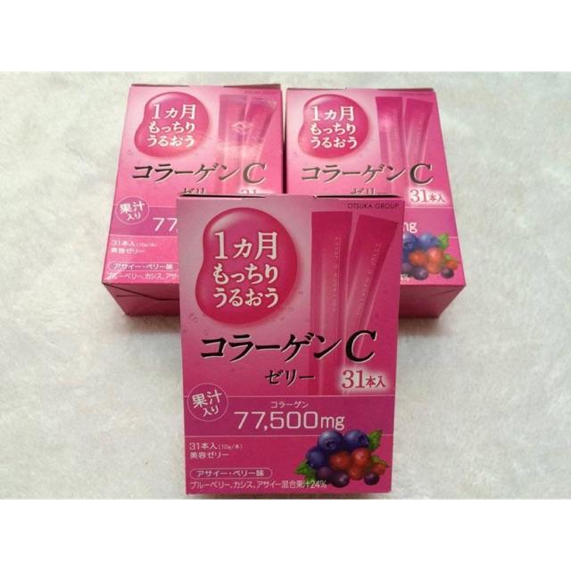 Thạch Collagen Jelly Nhật Bản