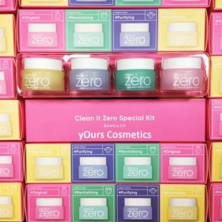 [Auth Hàn] Combo Sáp Tẩy Trang Banila Clean It Zero Kit Mini 4 Hũ - Tẩy Trang Dạng Sáp Zero Banila Co Full Set thumbnail