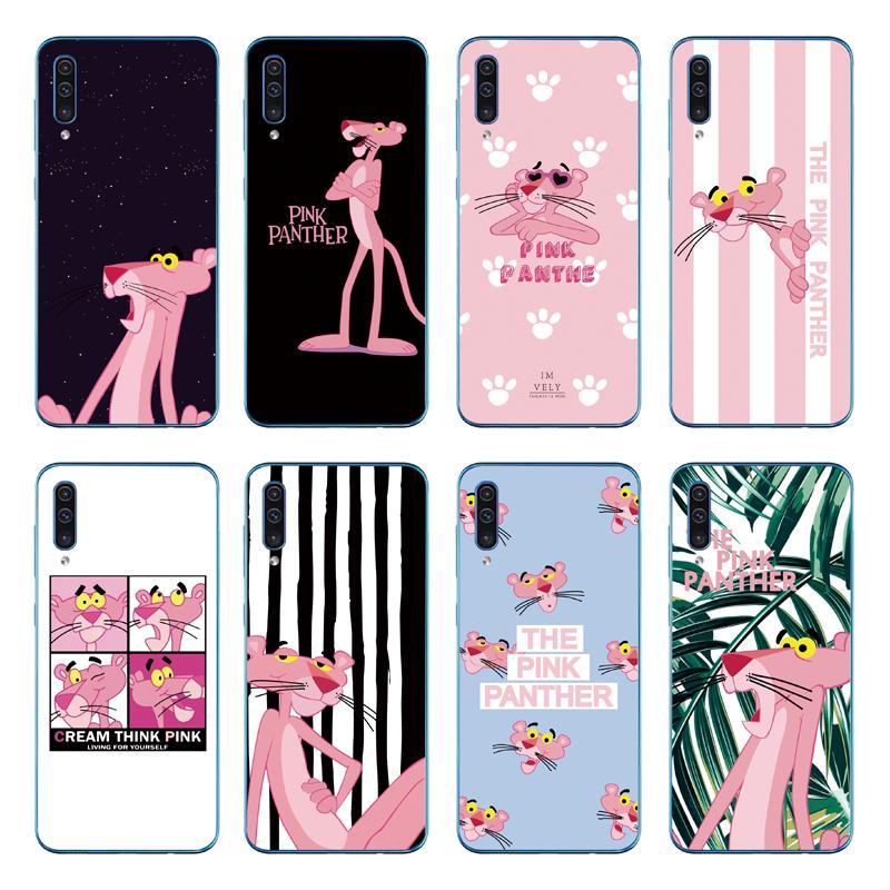 Pink Panther Soft Cover Samsung Galaxy A70 A50 A40 A30 A20 A10 TPU Case