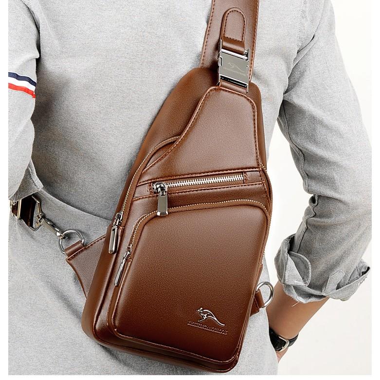 [Bảo hành 10 năm] HÀNG NHẬP Túi đeo chéo nam TDN31 DA CAO CẤP ĐỰNG IPAD 8 INCH LOẠI 1