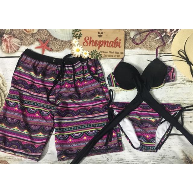 Bikini cặp thun lạnh thổ cẩm - 2638897 , 1000455015 , 322_1000455015 , 145000 , Bikini-cap-thun-lanh-tho-cam-322_1000455015 , shopee.vn , Bikini cặp thun lạnh thổ cẩm
